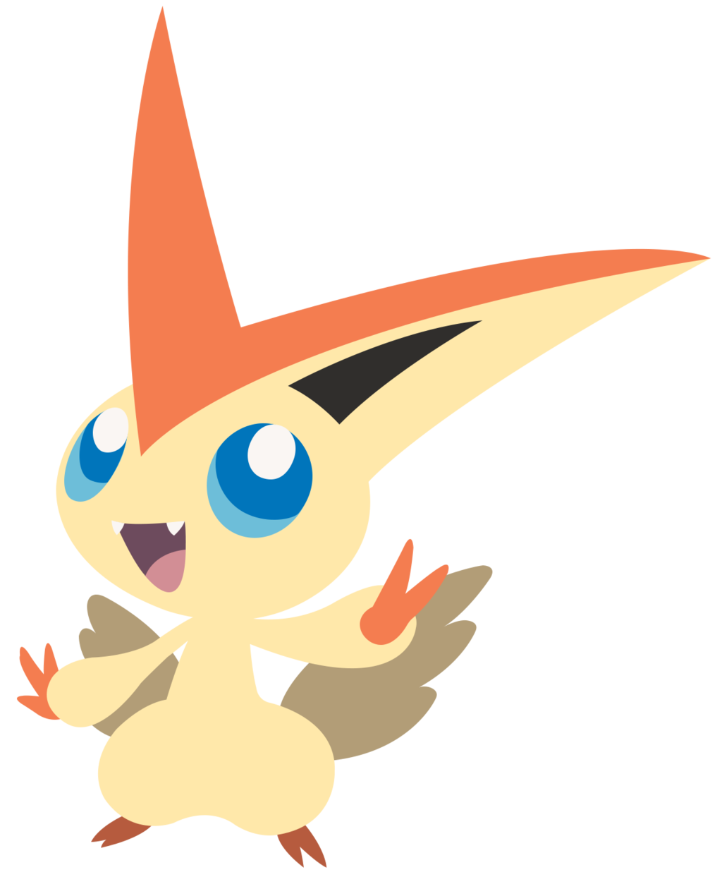 Victini by Squiggle.