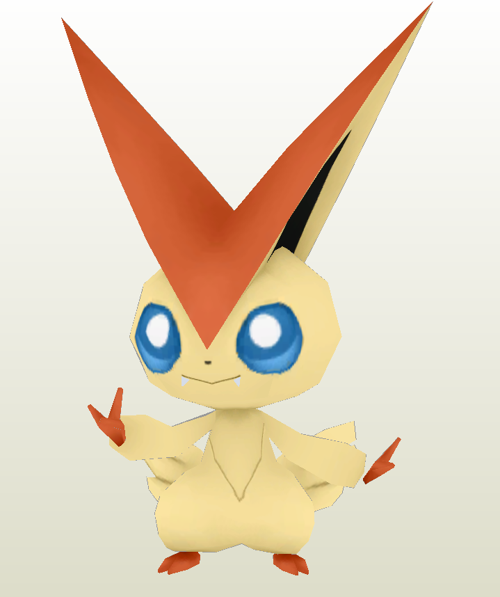 Victini 2 Finished by Sabi996 on DeviantArt.