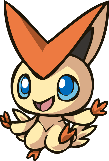 Victini loves macarons by alexandrasalas on DeviantArt.