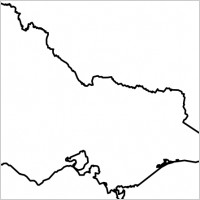 Outline map victoria bc canada saanich peninsula Free vector for.