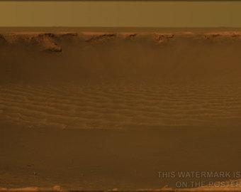 Items similar to Custom Print of Richardson Crater on Mars on Etsy.