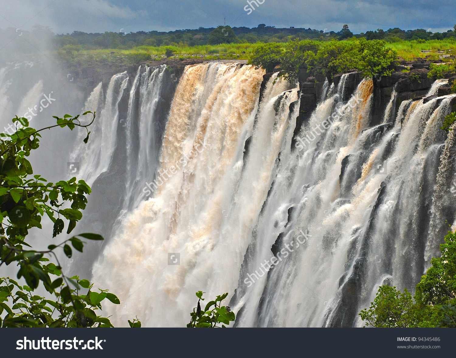 The Victoria Falls (South Africa)Is 1708 Meters Wide, Making It.
