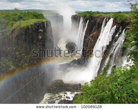 Victoria Falls Stock Photos, Royalty.