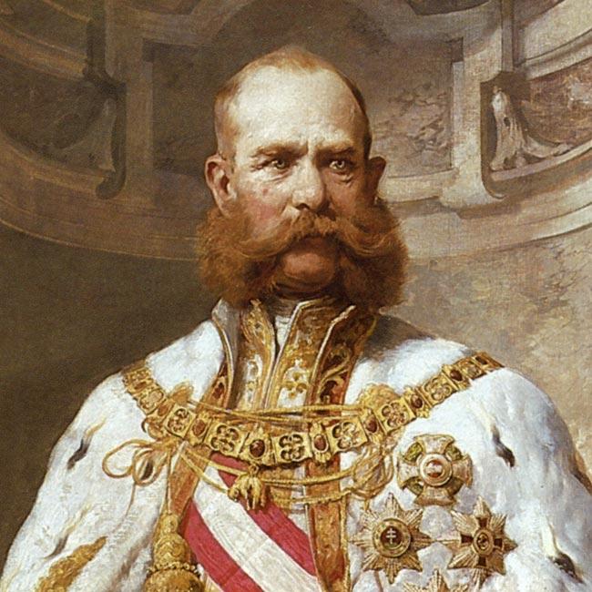 Kaiser Franz Joseph I, 1879.