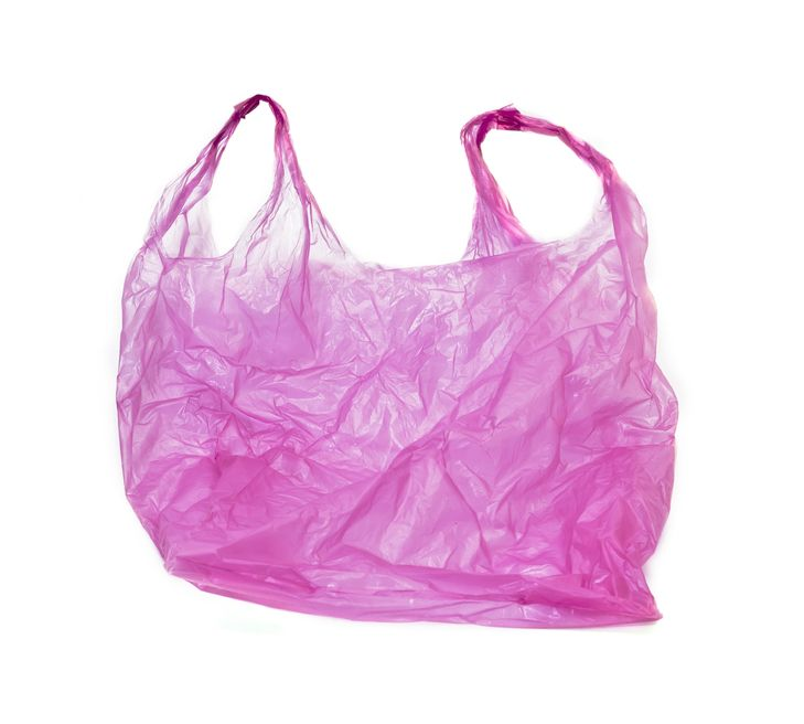 Plastic Grocery Bag Clipart.