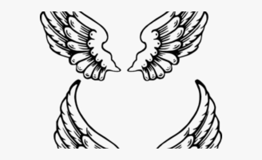 Dark Angel Clipart Pegasus Wing.