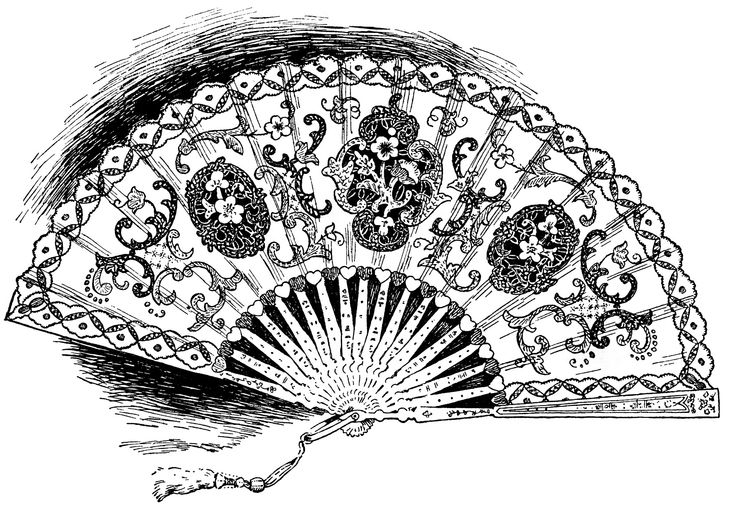 Victorian Ladies Clipart.