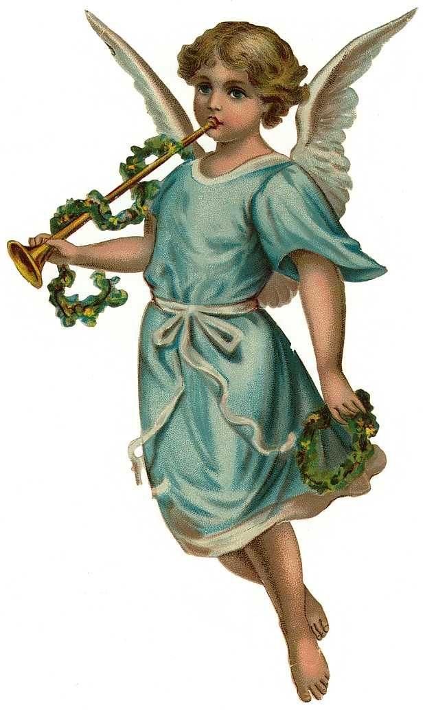 Cards Scrapbooking and Art: Vintage Angel & fairies (35) in.