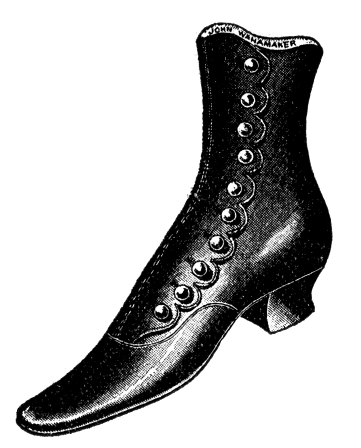 Free Victorian Boot Cliparts, Download Free Clip Art, Free.