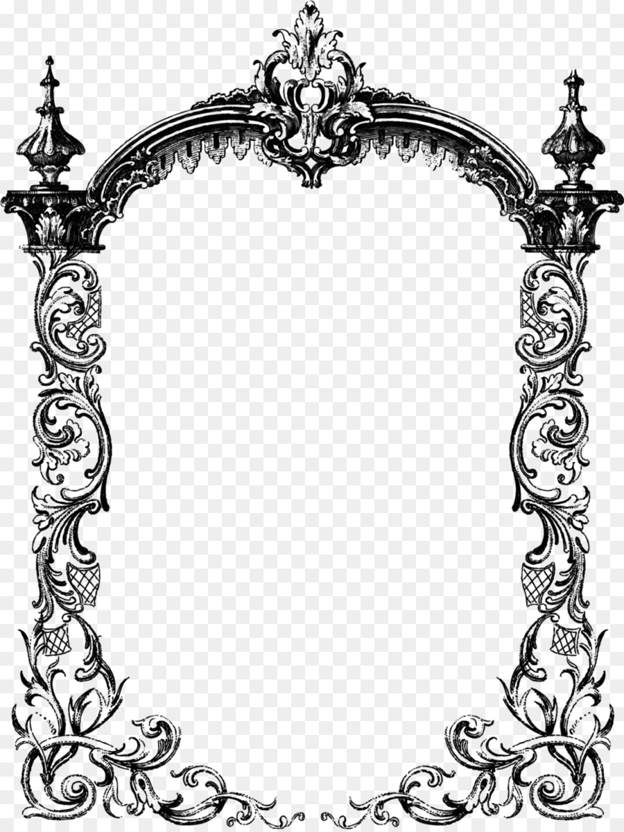 Victorian Border Frame Png (110+ images in Collection) Page 3.