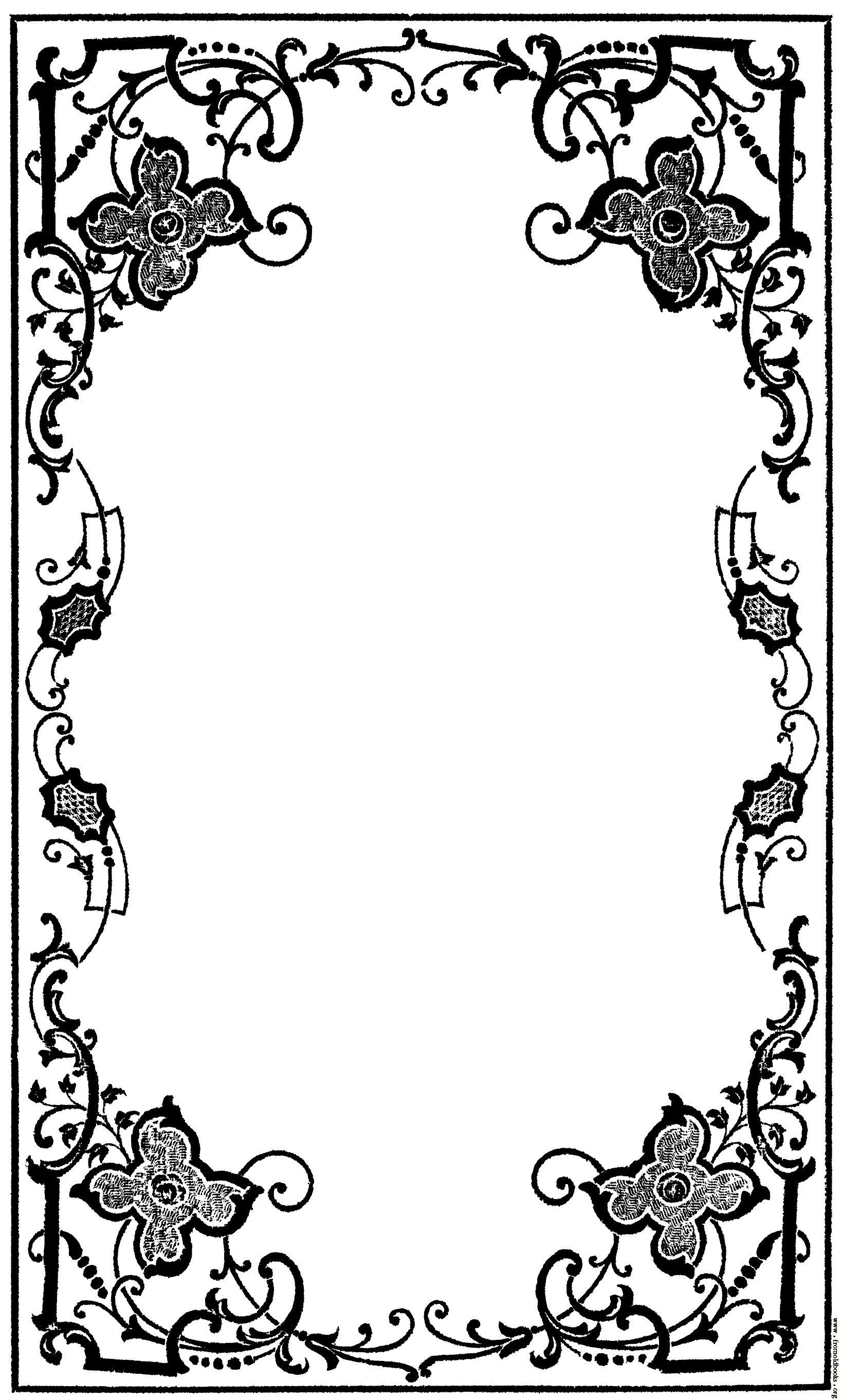 victorian book decoration.