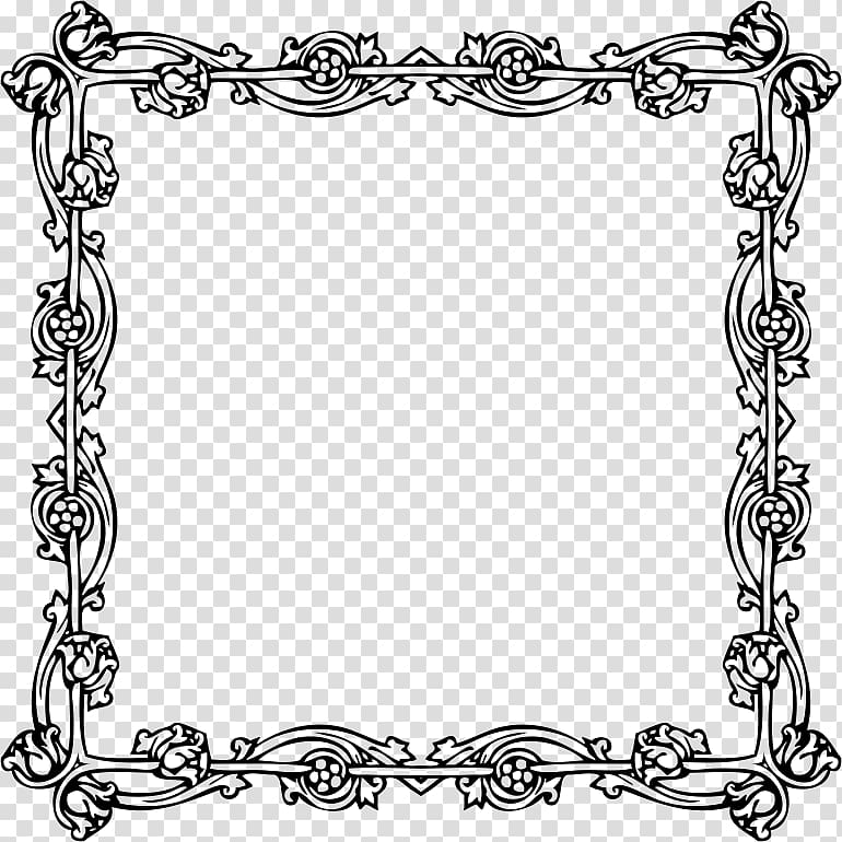 Victorian era Borders and Frames Frames, fashion border.