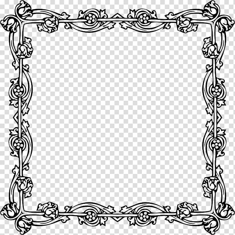 Victorian era Borders and Frames Frames, fashion border.