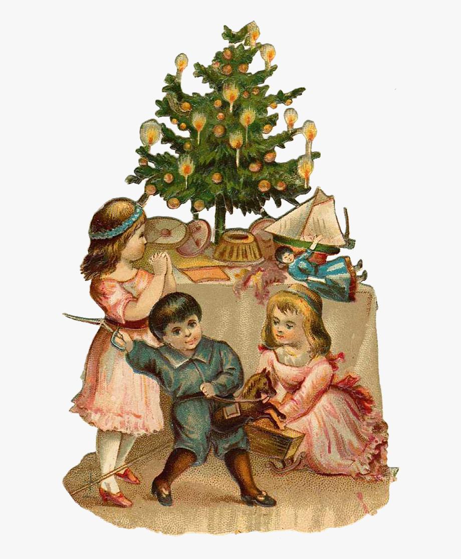 Vintage Victorian Christmas Die.