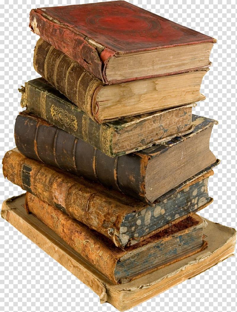 Book Vintage clothing , old book transparent background PNG.