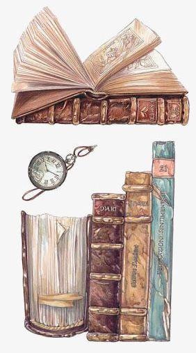 Vintage Books PNG, Clipart, Art, Books, Books Clipart.