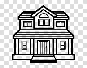 Victorian House transparent background PNG cliparts free.