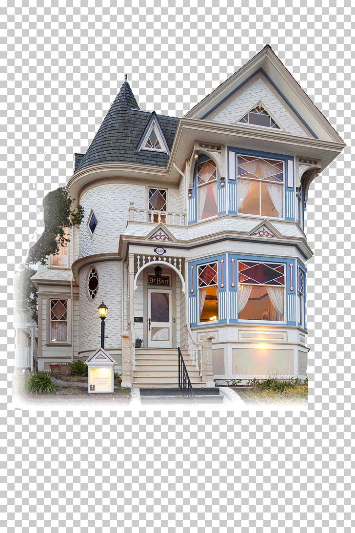 The White Hart House Monterey Building Victorian era, house.