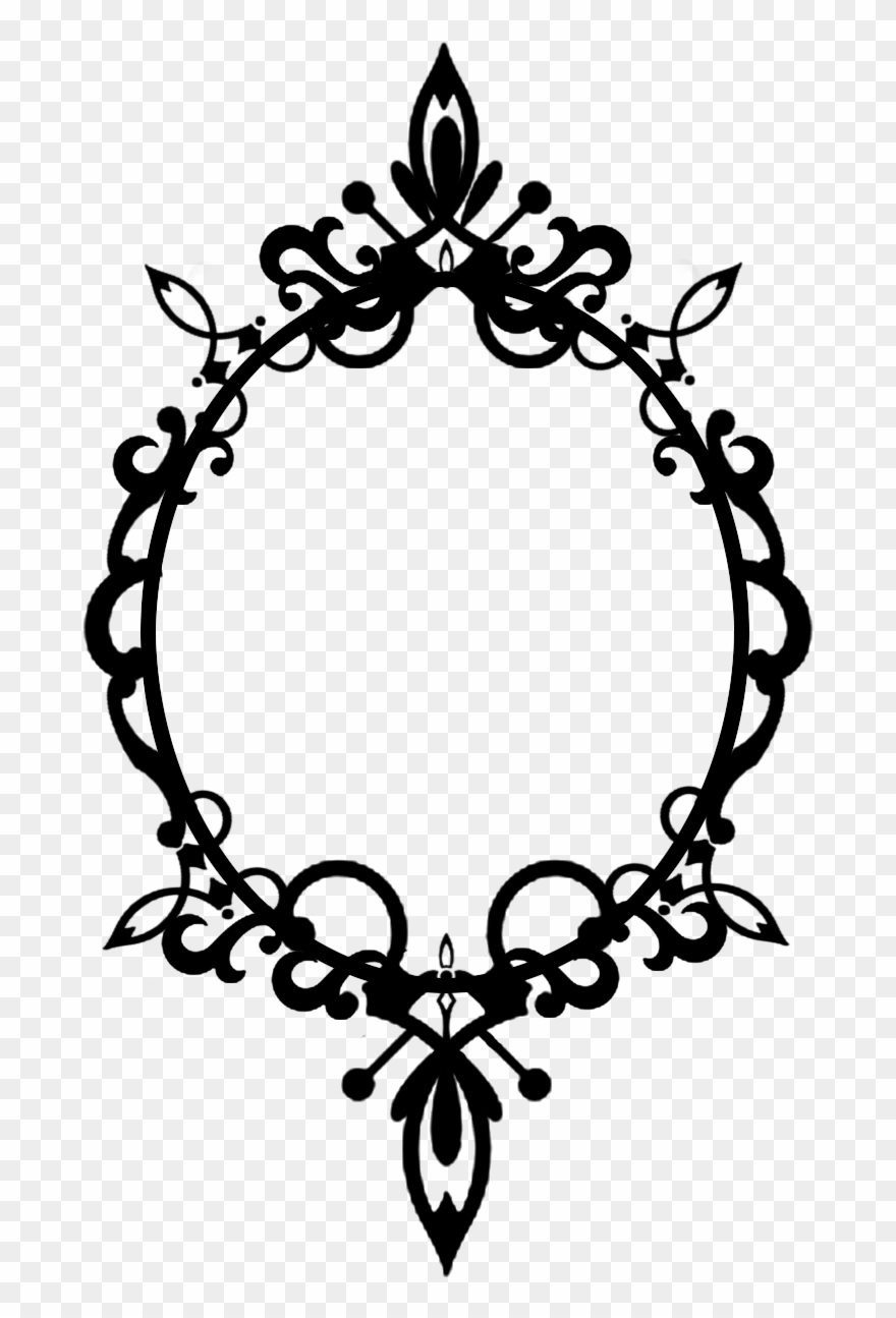 Victorian Frames Clipart.