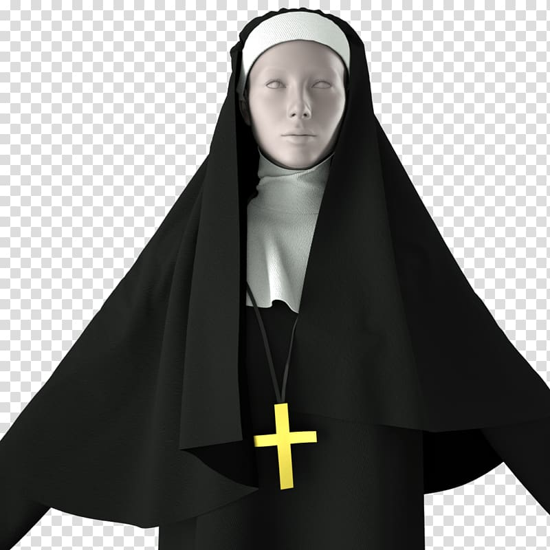 The Flying Nun Religious habit Clothing Costume, beautiful.