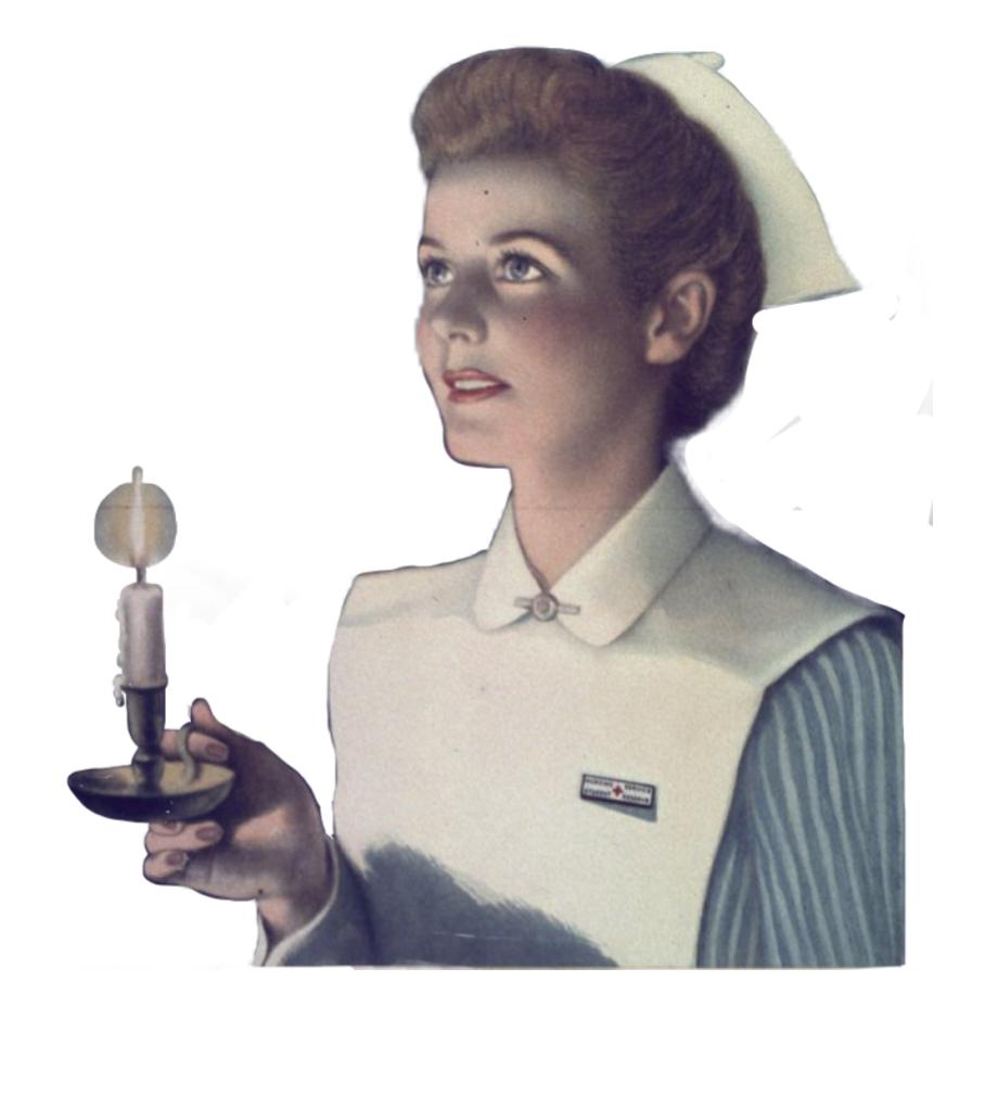 Nurse Hospital Retro Vintage Woman Scnursesessentials.