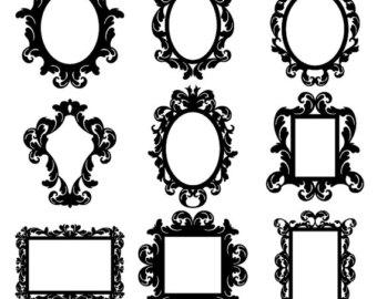 Baroque Frames Clipart Clip.
