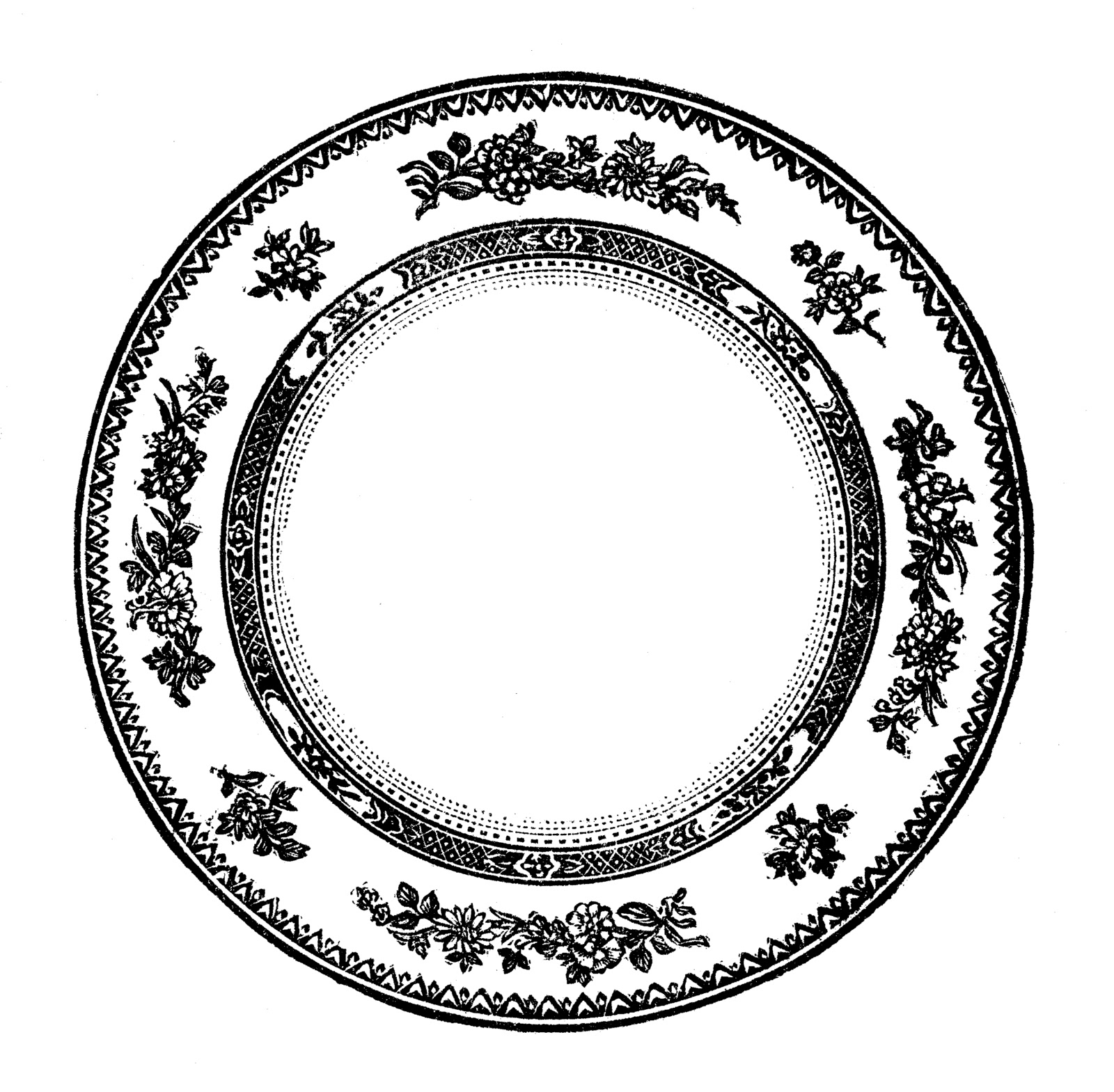 Free Vintage Plate Cliparts, Download Free Clip Art, Free.