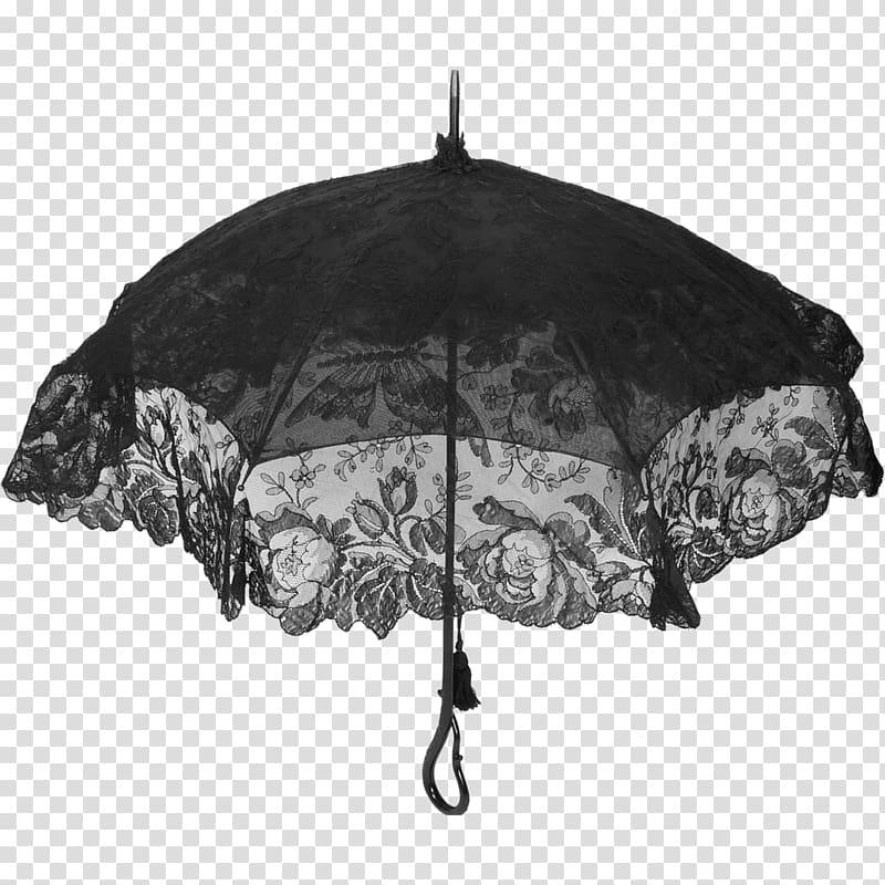 Victorian era Umbrella Antique Mourning Lace, umbrella.
