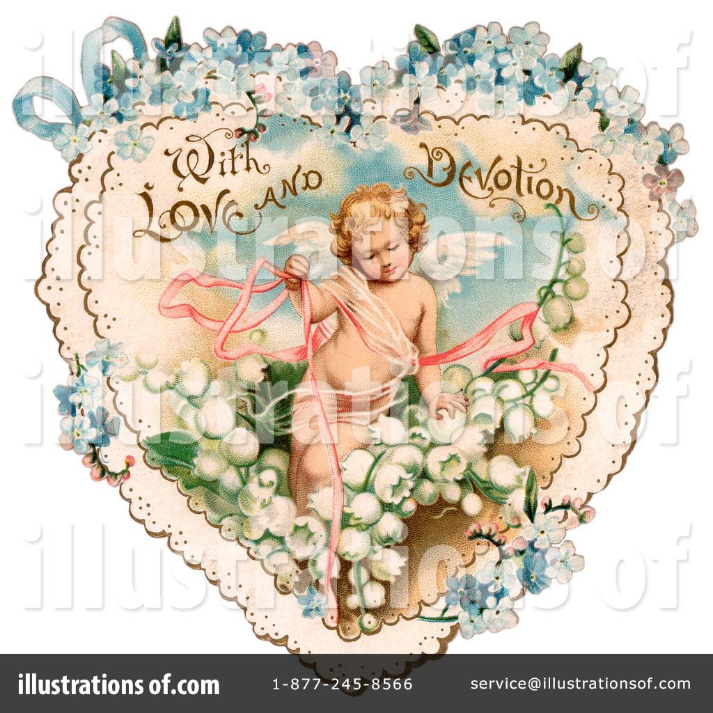 Victorian Valentine Clipart #28817.