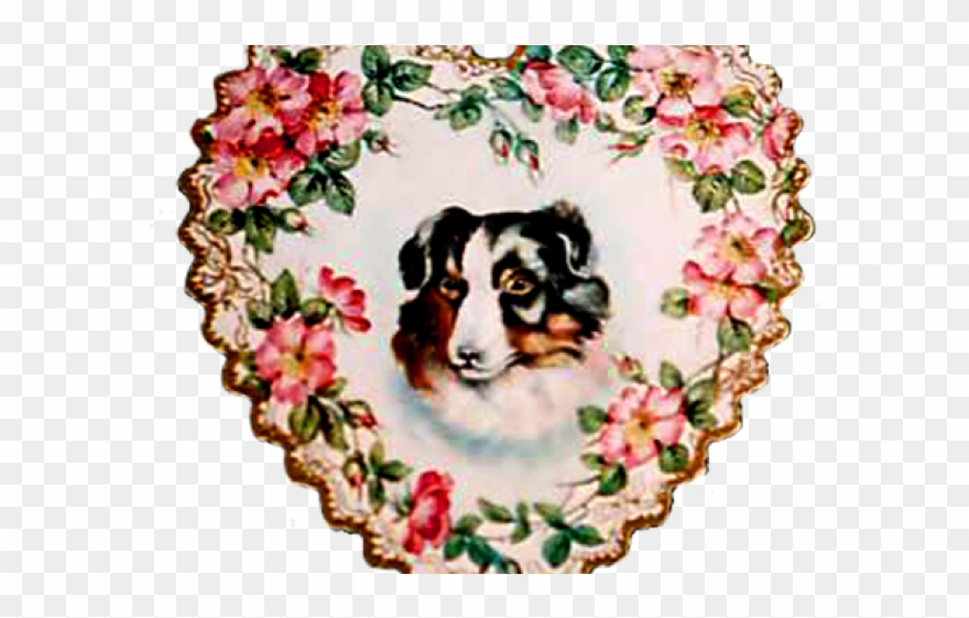 Victorian Clipart Valentine.