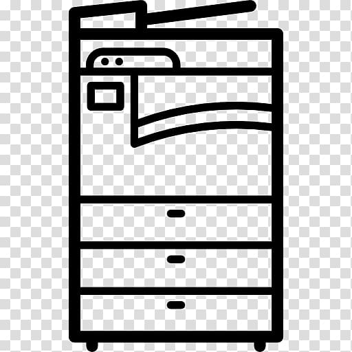 Copier Fax Computer Icons Copying, cartoon printing.