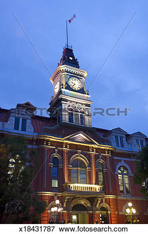 Picture of Victoria clock tower x18431787.
