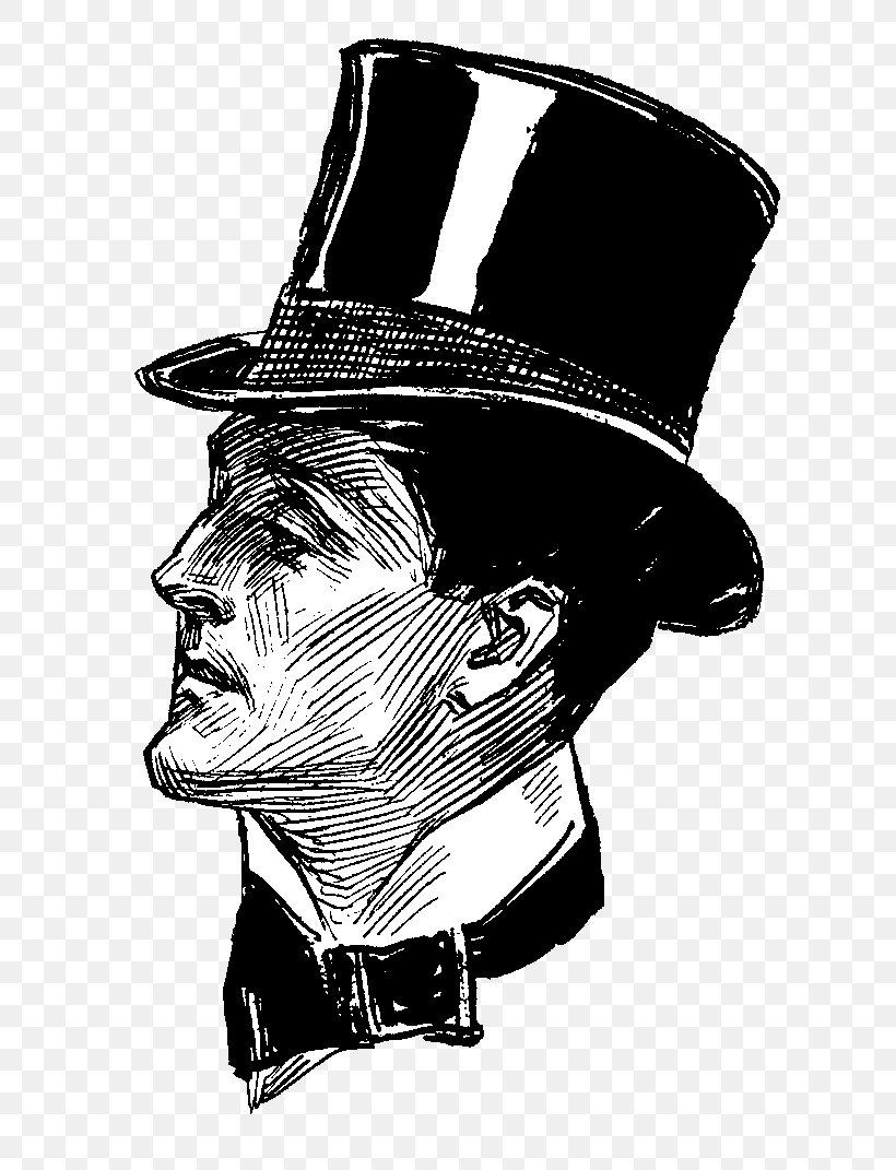Victorian Era Bowler Hat Drawing Clip Art, PNG, 686x1071px.
