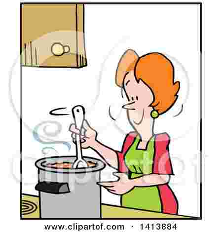 Free Cliparts: Colonial Woman Cooking Clipart A Woman.