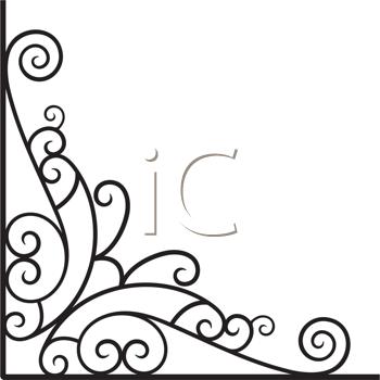 Decorative Victorian Corner Clipart Imagelooks like a.