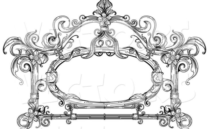Victorian Designs Clip Art.