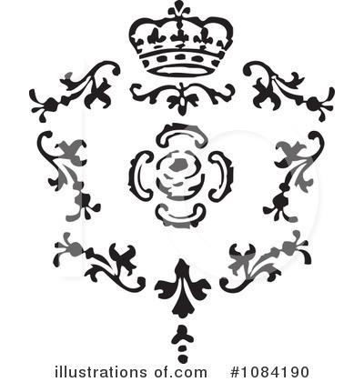 Victorian Design Elements Clipart #1084190.