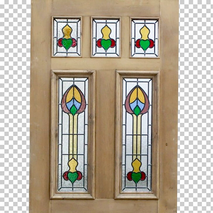 Stained glass Victorian era Edwardian era Window Door.