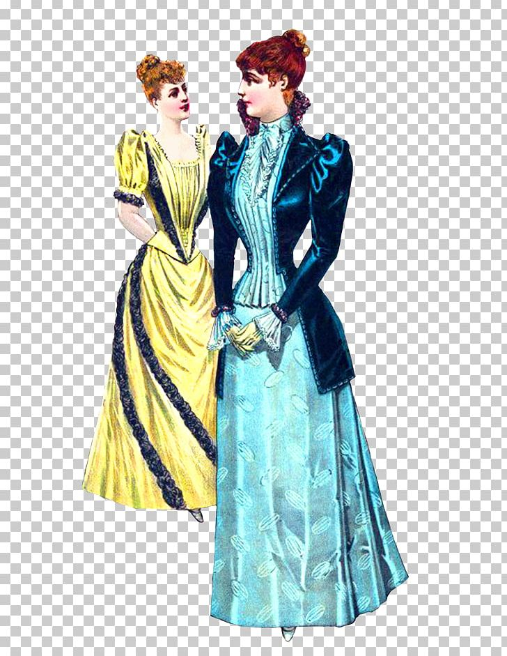 Victorian Era Costume Clothing Dress PNG, Clipart, Clothing.