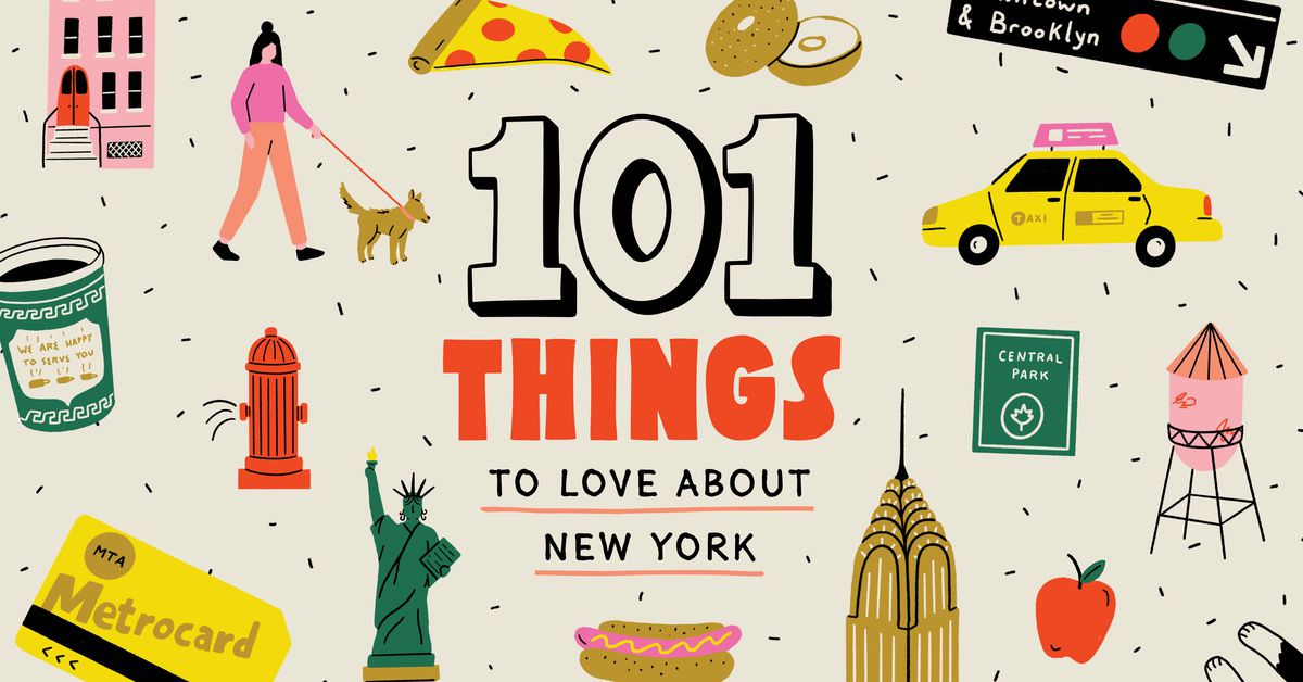 101 things to love about New York.