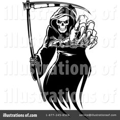 12 Best grim reaper clipart vector #17 images.