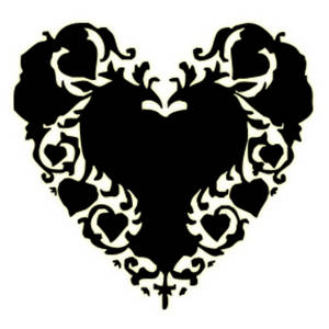 Victorian heart clipart » Clipart Station.