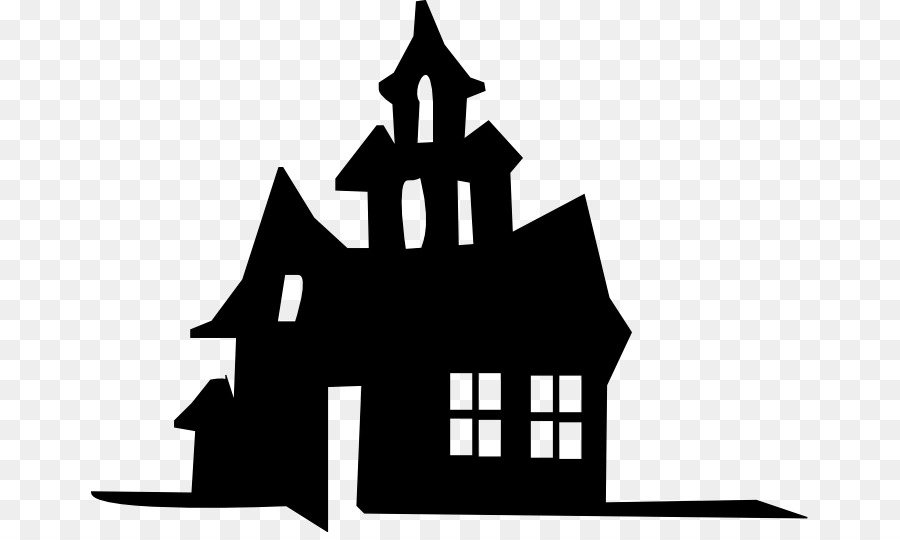 Victorian house Silhouette Clip art.