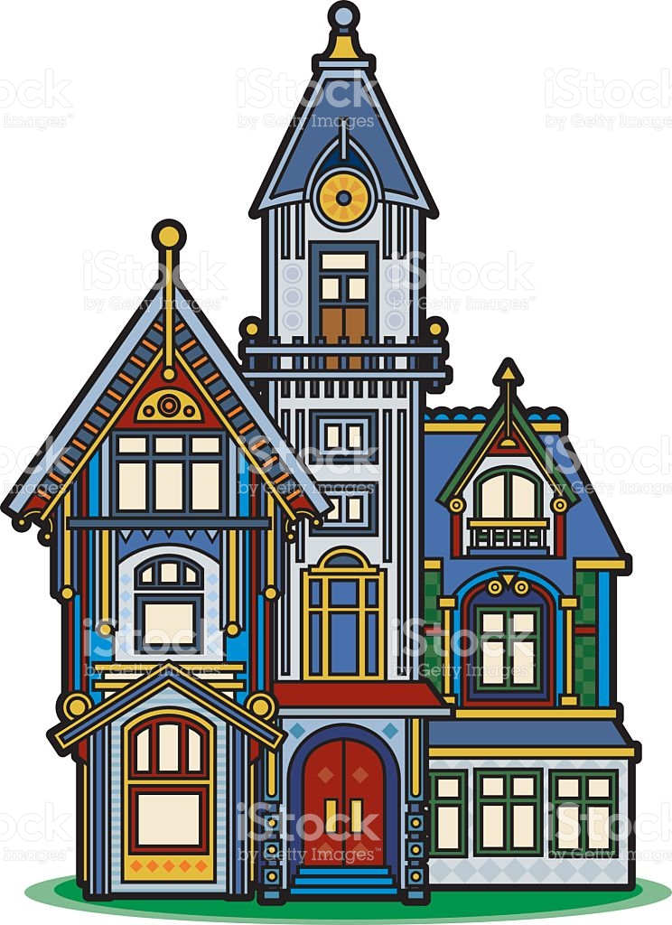 3121 Victorian free clipart.