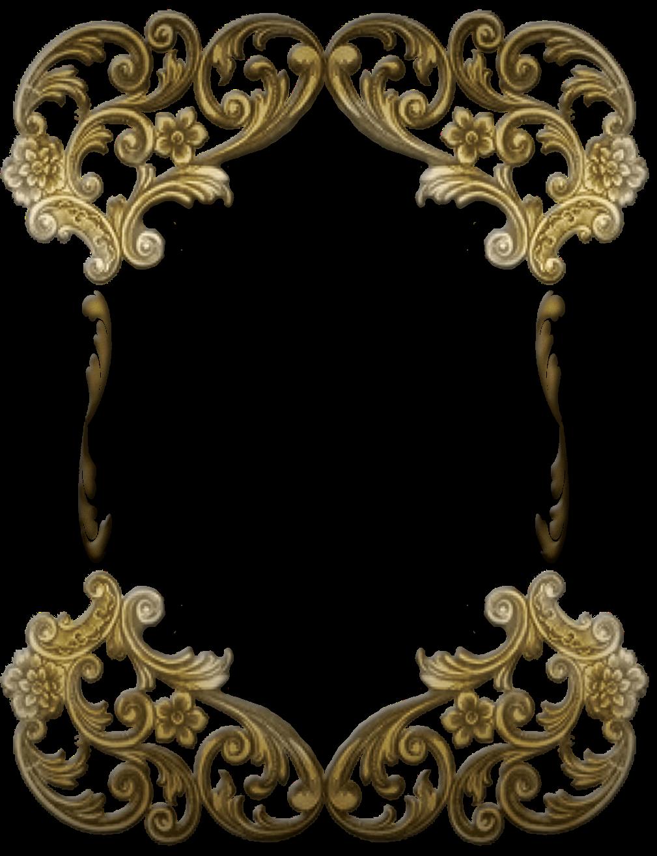Victorian Frame PNG Transparent Victorian Frame.PNG Images.