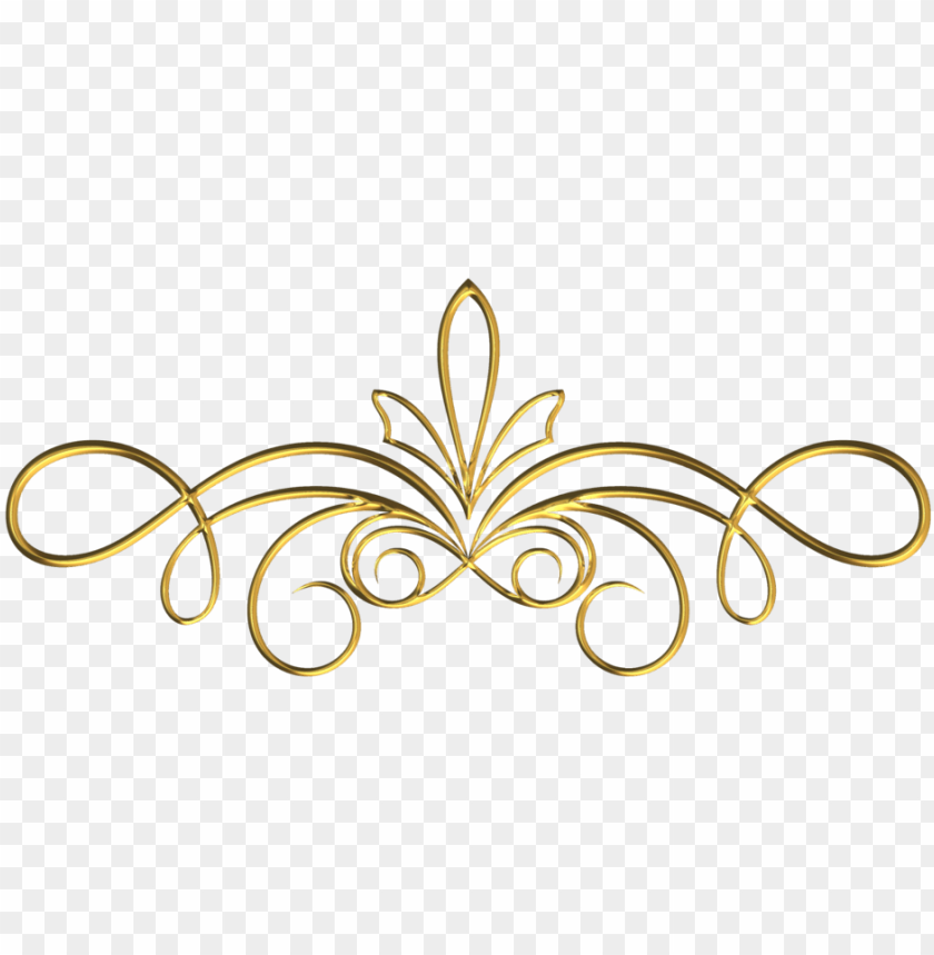 scrollwork 1 gold by victorian lady.