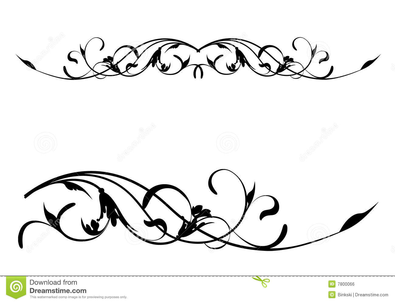 Scroll Vector Art Clipart.