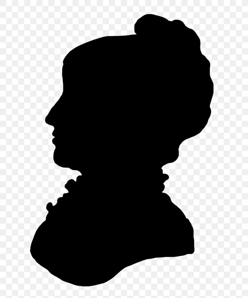 Victorian Era Silhouette Female Clip Art, PNG, 650x987px.