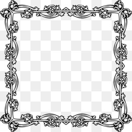 Victorian Frame PNG and Victorian Frame Transparent Clipart.