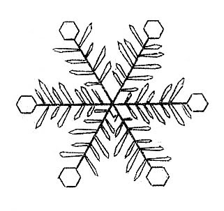12 Snowflake Images!.